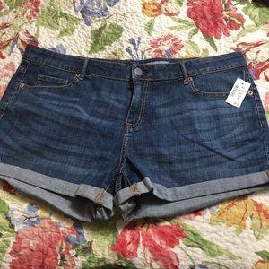 Size 18 NWT Aeropostale Jean Shorts
